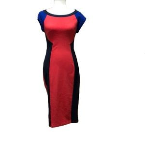 BEWARE | Colorblock dress | L